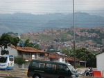 View at a part of Bucaramanga